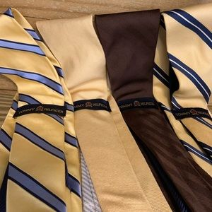 Tommy Hilfiger Ties - Four Lot